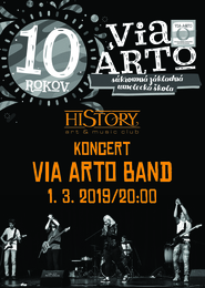 VIA ARTO BAND V HISTORY